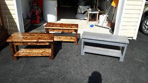 Handmade Porch Bench St. John's Newfoundland image 1