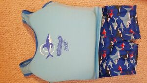 Baby Boy Swimsuit (with life jacket) 18-24 m