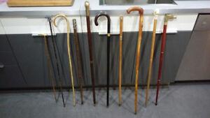 Antique old new vintage cane 9