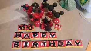 Mickey Mouse Birthday Decorations - Sackville, NB