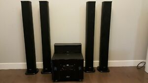 Price Reduced Sound System-Tower Speakers