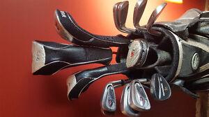 Wilson Staff Golf clubs and bag
