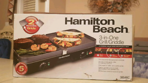 Hamilton Beach, Grill and Griddle