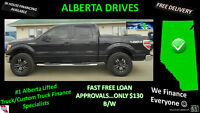 "$130 B/W 2010 F150 FX4 SUPERCREW, 2"" LEVEL; CUSTOM RIMS"