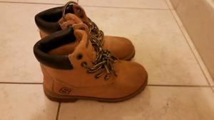 Boys size 13 Skechers boots