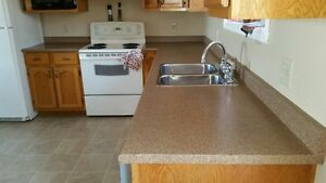 Kenmore Stove & Refridgerator; and Countertop