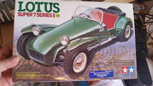 Tamiya Caterham 1:24 model included paint