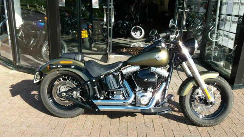 Harley-Davidson FLS Softail Slim | in Plymouth, Devon | Gumtree