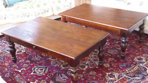 "Wicker Emporium  ""Harvest ""Matching Coffee Tables & Side Table"