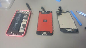 iPhone 4 4S 5 5S 5C 6 6s 6 plus  Screen Replacement