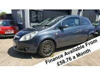 2008 Vauxhall Corsa Design Cdti 1.3 Hatchback Diesel Manual
