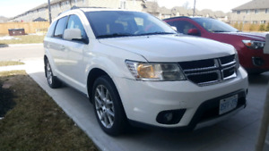 2016 Dodge Journey R/T AWD w/ Low KMS in Peral White