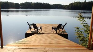 """50% discount for 2017 spring/Fall """"lakefront Mazinaw Cottage"""""""