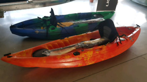 Kayak for Sale | Seat and Paddle included!