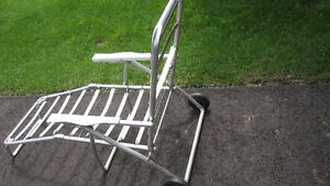 Beach Chair Frame, Lawn Chairs & Tea Table