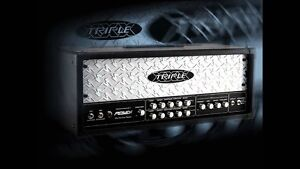 Peavey Triple XXX All Tube, 3- Channel,120Watt Head