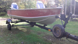 12 Foot boat and Trailer