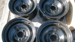 GM 15 inch steel rims