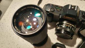 Canon T50 avec Accessoires