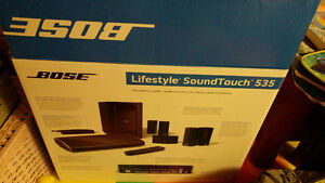 Bose home theatre system lifestyle sound touch 535 brand new in
