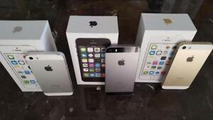 iPhone 5S 16GB & 32GB **UNLOCKED Freedom/Roger/Chatr/Fido/Telus/Virgin/Bell/Koodo NEW CONDITION 90 DAY WARRANTY INCLUDED