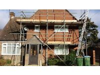 Scaffolding/handrail services in Coventry and Warwickshire