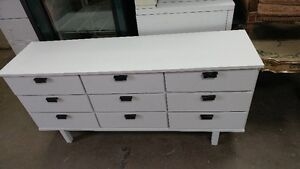 2 beautiful solid wood white dressers. Delivery available!!! London Ontario image 1