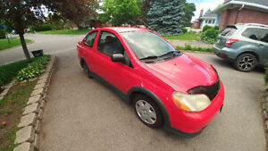 2001 Red Toyota Echo coupe for sale - Best offer