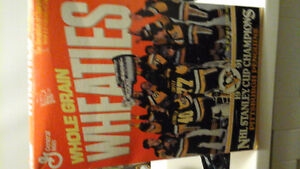 Wheaties 1991 Pittsburgh penguins stanley cup Champs London Ontario image 1