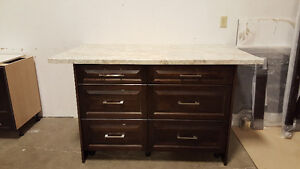 Maple Island with Countertop - New