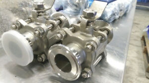 NEW Brewing Fixtures Auction – Tri Clamps, Valves & More!