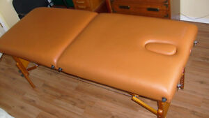 Massage Table - Portable with Headrest and Carrying Case