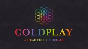 Coldplay Sydney Platinum seated  tickets 13 Dec, 4 available Sydney City Inner Sydney Preview
