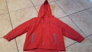 boys 3T lined fall coat