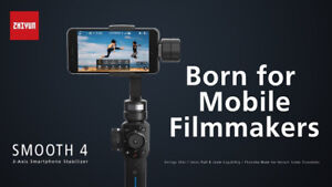 Zhiyun Smooth 4 3-Axis Gimbal Stabilizer for Smartphone