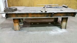 Steel Table 5' x10' Prince George British Columbia image 2