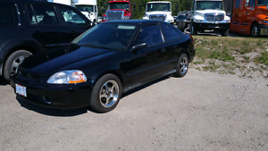 1998 Civic Coupe Turbo 300hp Great Shape NEED GONE NO ROOM