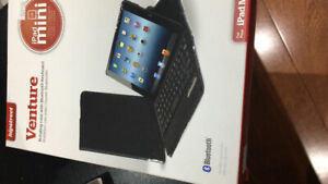 Venture iPad mini rooted in case with Bluetooth keyboard