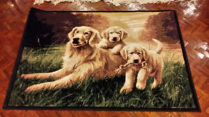 golden retriever carpet