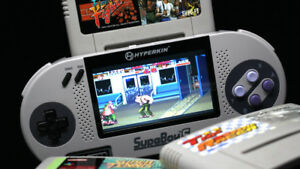 SUPABOY-S -  RARE Japanese Super Nintendo Portable Machine