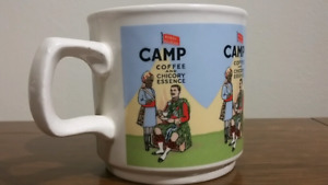 Camp Coffee Chicory Essence Advertising Shaving Mug