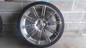 Set Chrome wheels Ruffino 20''