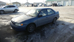 1998 Toyota Corolla VE Autre