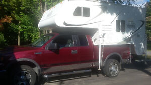 camper palomino 6601 2009 et ford f150 4x4 2004