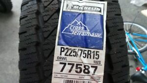 P225/75R15Michelin Tires NEW - CROSS TERRAIN SUV