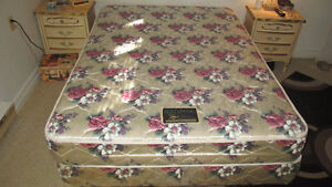 """53""""X75"""" Super Twin Mattress, Boxspring and Frame"""