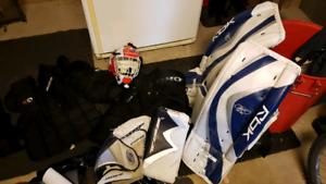 Kit gardien pour dek hockey