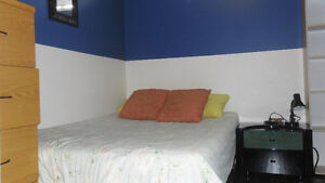 clean bright furnished room min one week or longer