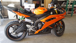 2009 Yamaha R6 woth lots of upgrades
