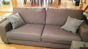 Two matching full size couches $400 OBO